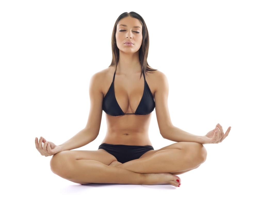 Marijuana Ganja Yoga
