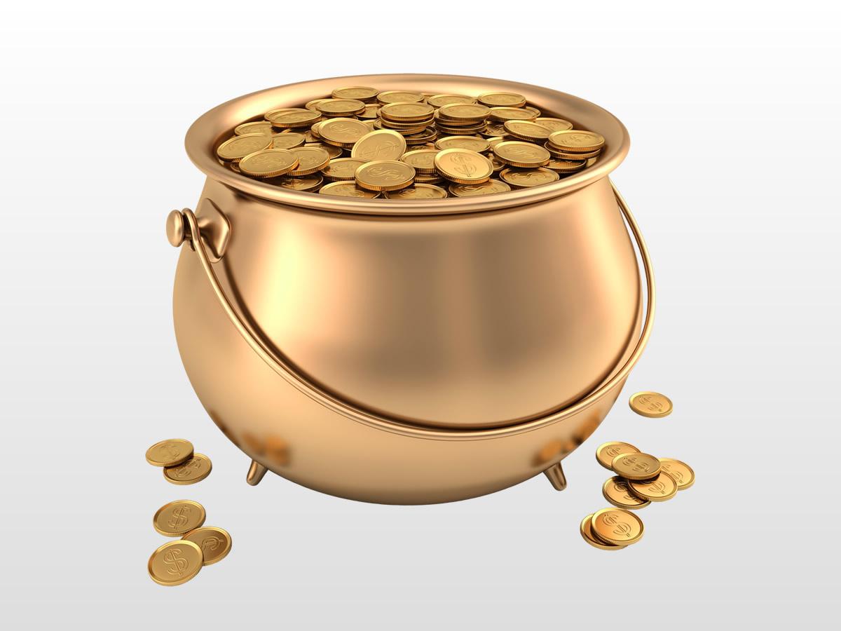 Marijuana Pot of Gold