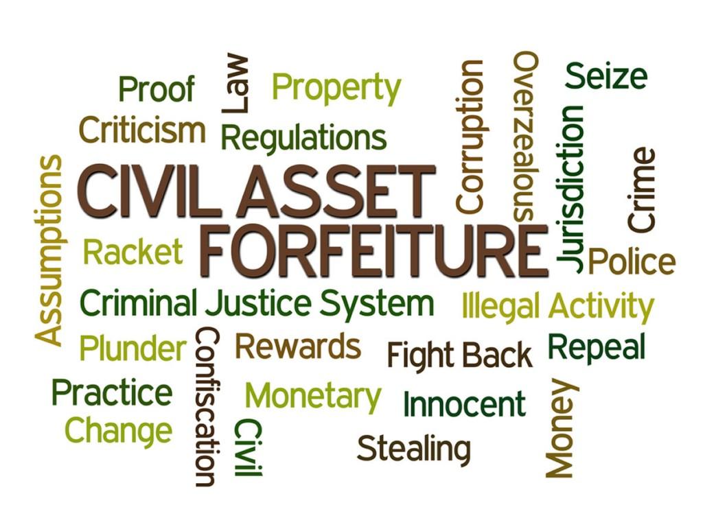 Marijuana Asset Forfeiture