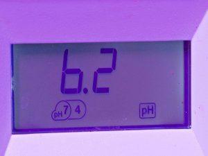 hydroponics pH meter