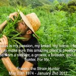 The Sad Death of Marijuana Strain Hunters Star Franco Loja