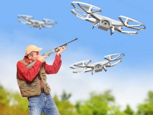 Marijuana growers want to shoot drones, but should they?