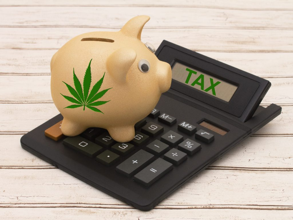 California cannabis tax
