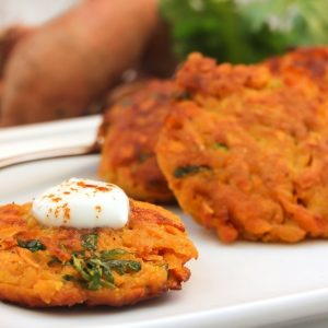NYC Diesel Sweet Potato Latkes