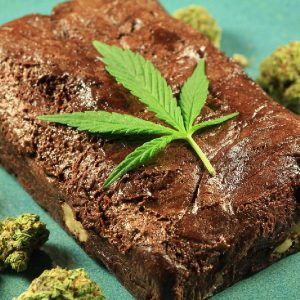 cannabis-infused fudge