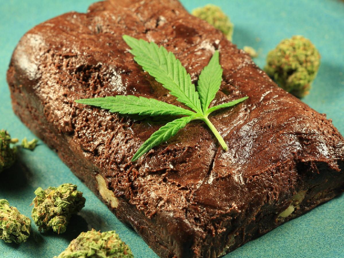 cannabis-infused fudge