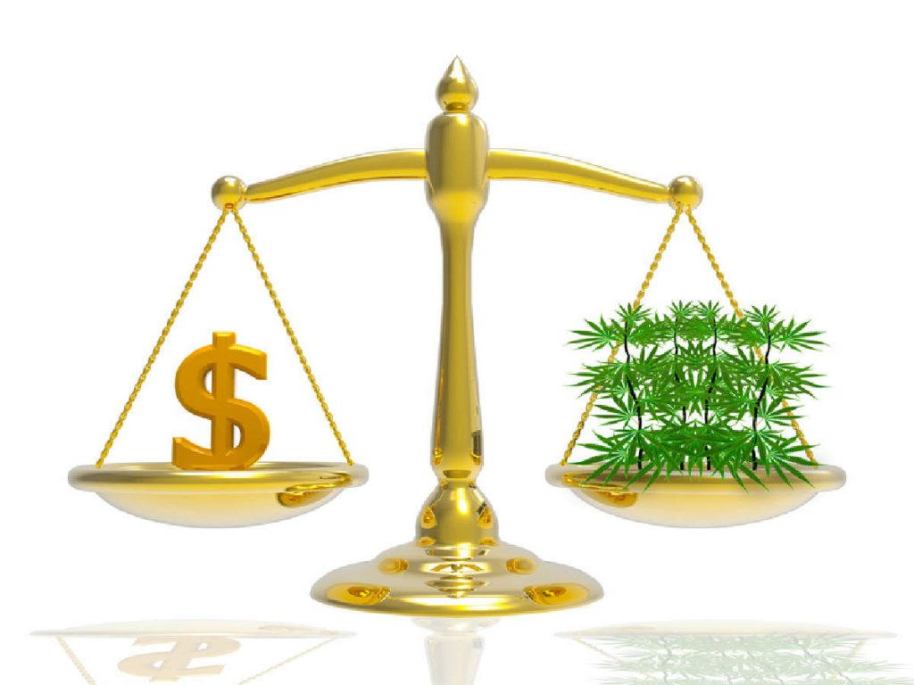 Falling marijuana price
