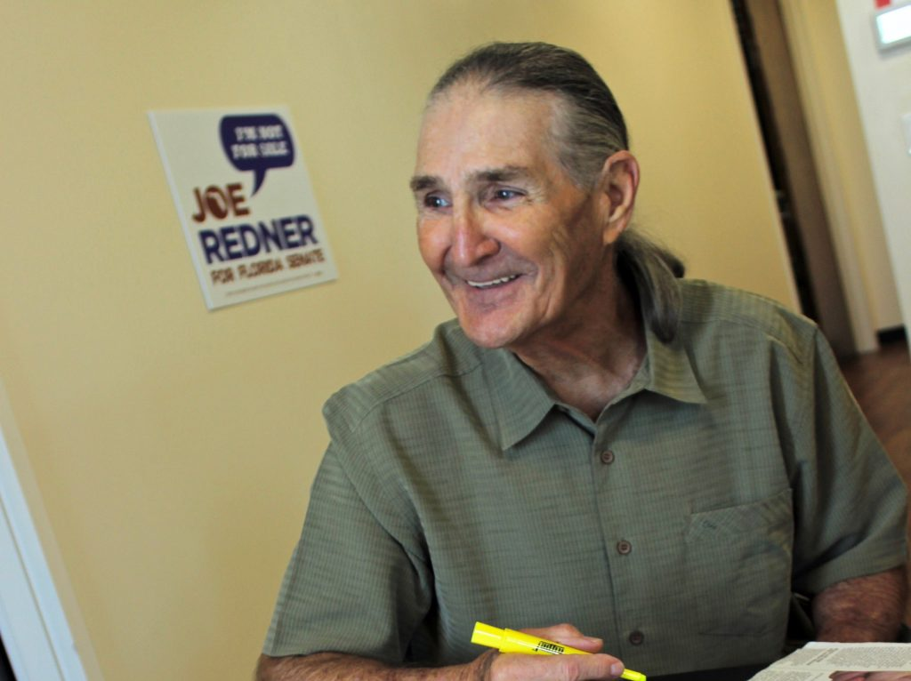 Joe Redner's lawsuit has achieved a stunning medical marijuana victory in Florida. (Image courtesy of Steve Davis)