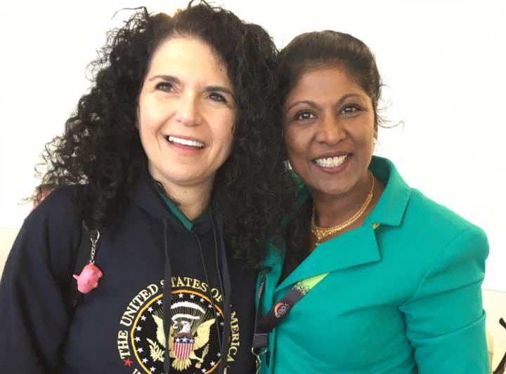 Uma Dhanabalan (right) and Sue Sisley (left) are both doctors and cannabis advocates whose mission is to change the stigma regarding marijuana. (Image courtesy of Facebook)