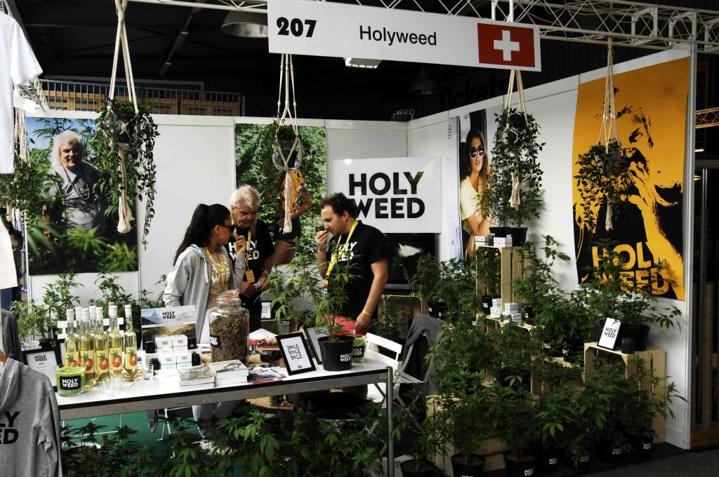 CannaTrade is one of Europe's oldest cannabis fairs and is host to the winners of the Canna Swiss Cup. (Image courtesy of Derrick Bergman)
