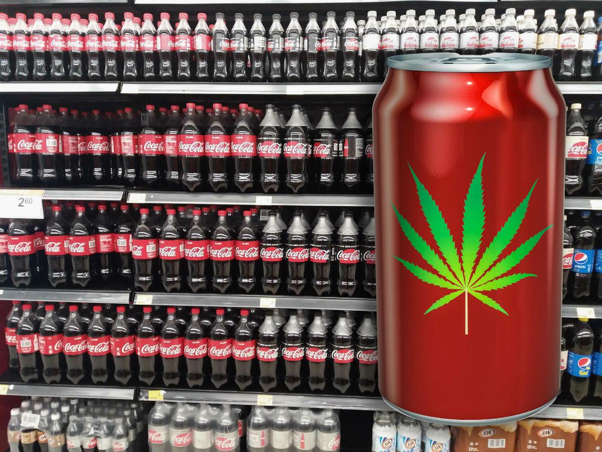 Coca-Cola cannabis