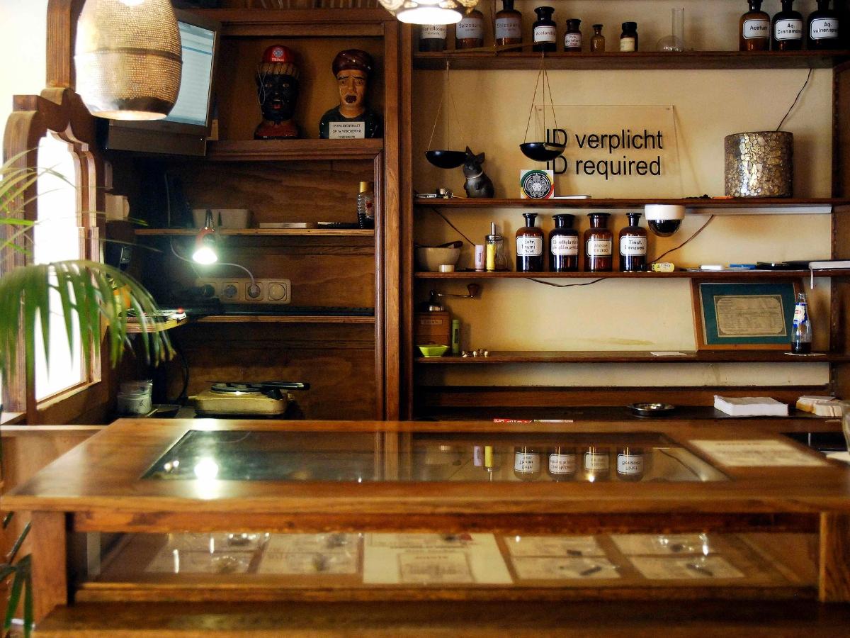 Dutch coffee shop