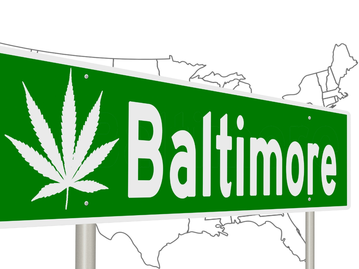 Baltimore cannabis possession