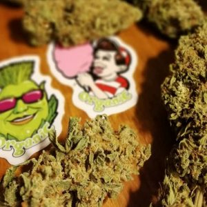 Organically Grown Buds Advanced Nutrients Stickers