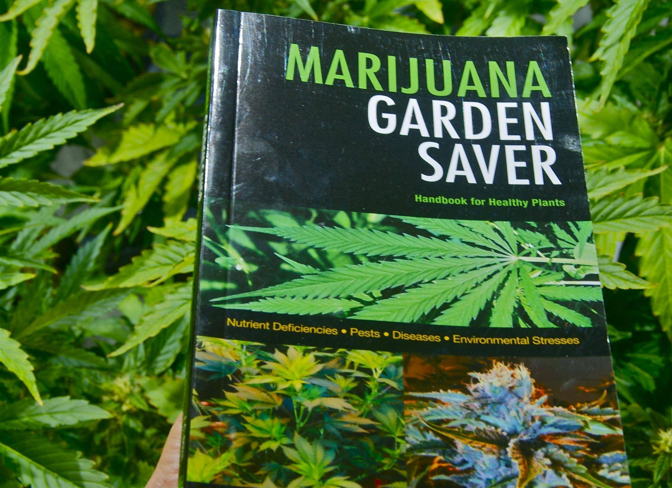 Marijuana garden saver book