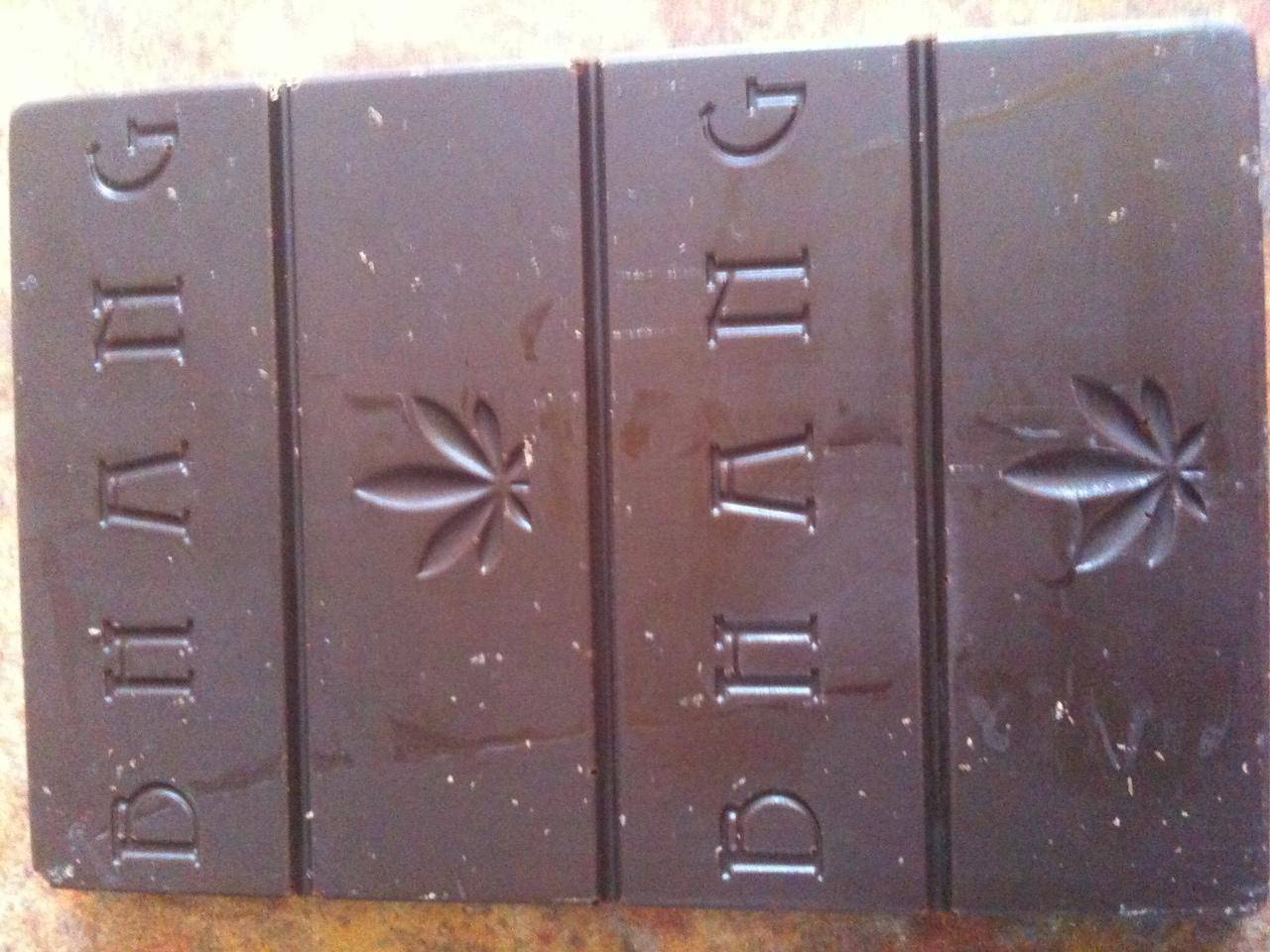 Bhang chocolate