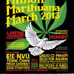 """The """"Million Marijuana March"""" Takes Prague in Support of Cannabis"""