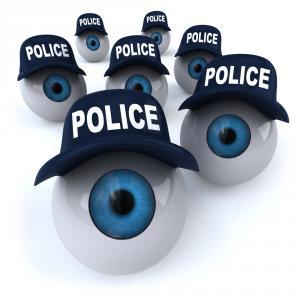 police eyes